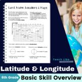 Map Skills: Latitude and Longitude Overview