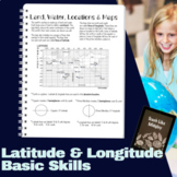 Latitude & Longitude Basic Skills Introduction/Review