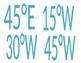 Latitude & Longitude Ceiling Coordinates