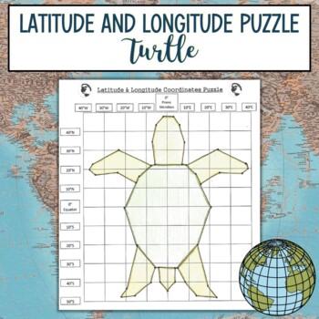 Latitude & Longitude Practice-Turtle