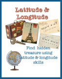 Latitude & Longitude - Powerpoint, quiz & treasure hunt using skills