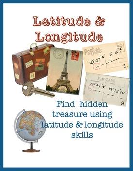 Latitude & Longitude - Powerpoint, quiz & treasure hunt using skills