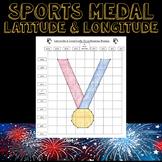 Winter Olympics 2018 Latitude & Longitude Practice-Medal