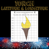 Winter Olympics 2018 Latitude & Longitude Practice-Torch