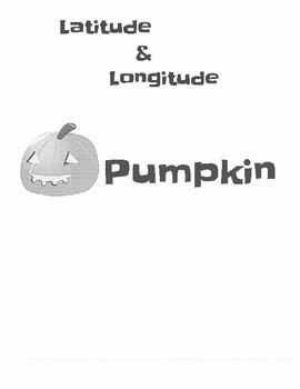Latitude & Longitude Pumpkin