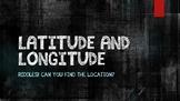 Latitude & Longitude Riddles - Group Practice