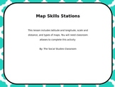 Latitude, Longitude, and Distance Stations
