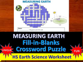 Latitude, Polaris - Fill-in-Blanks Review & Crossword (Regents Earth Science)
