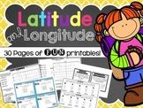 Latitude and Longitude Activities for Kids