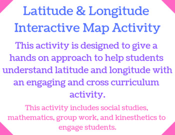 Latitude and Longitude Activity