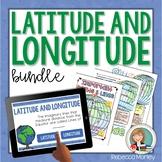 Latitude and Longitude Worksheet and Activity Bundle