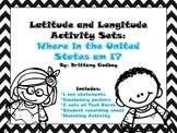 Latitude and Longitude Activity Sets:  Where in the United