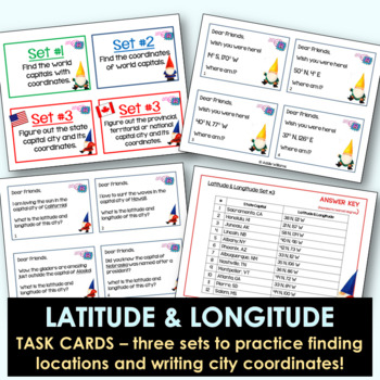 Latitude and Longitude Bundle - Activities, Posters and More!
