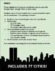 Latitude and Longitude: Cities Worksheet - Google Maps