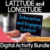 Latitude and Longitude Digital Curriculum - THE BUNDLE - P