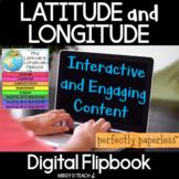 Latitude and Longitude Digital Flipbook | Google Slides |