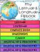 Latitude and Longitude Digital Flipbook - Perfectly Paperless Resources