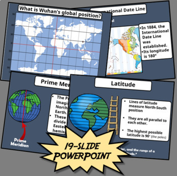 Latitude and Longitude - Engaging PowerPoint, Challenging Activities!