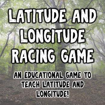 Latitude and Longitude Fidget Spinner Racing Game