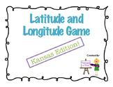 Latitude and Longitude Game - Kansas Edition!