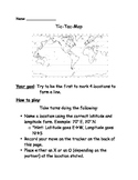 Latitude and Longitude Game--Tic Tac Map