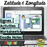 Latitude and Longitude Games, Activities and Worksheets Di