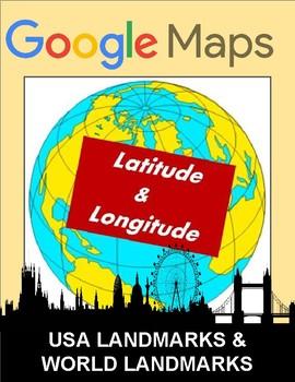 Latitude and Longitude: Landmark Worksheet - Google Maps
