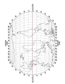 Latitude and Longitude - Lost on an Adventure Game