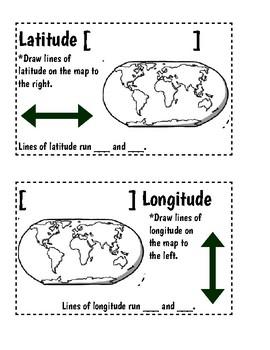 Latitude and Longitude Notes