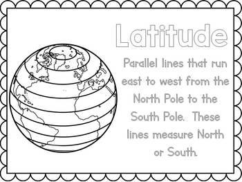 Latitude and Longitude Posters