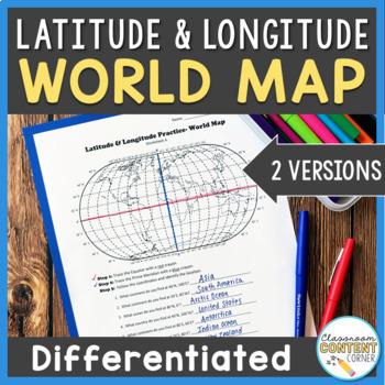 Latitude and longitude worksheet teaching resources teachers pay latitude and longitude practice latitude and longitude practice gumiabroncs Images