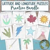 Latitude and Longitude Practice Bundle