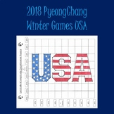 Winter Olympics 2018 Latitude & Longitude Practice-USA