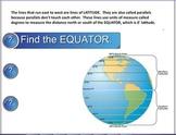 Latitude and Longitude SMART Notebook lesson