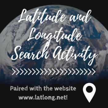 Latitude and Longitude Search Activity