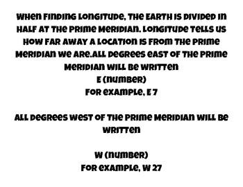 Latitude and Longitude Stations