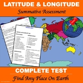 "Latitude and Longitude ""Test"""