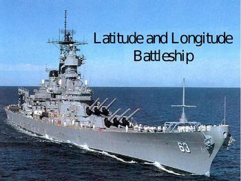 Latitude and Longitude Tutorial and Battleship Game