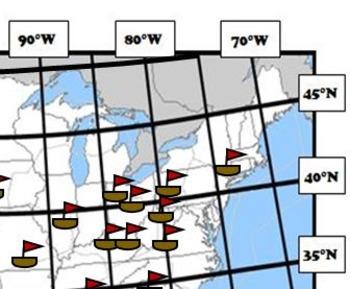 Latitude and Longitude Activity Bundle - Holidays & Celebrations, USA 25% OFF!