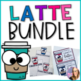 Latte BUNDLE- Bulletin Board and Editable Thank You Cards