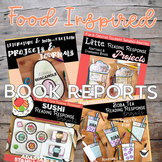 Food Inspired Fiction, Non-Fiction & Biography Projects BUNDLE