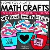 Latte Math Crafts | Valentine's Day Activity