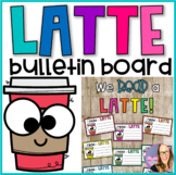 Latte Writing Craft for Bulletin Board