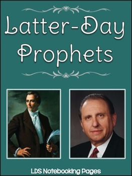 Latter-Day Prophets Notebooking Pages