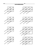 Lattice Diagrams 3x3 2x3 2x2