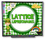Lattice Leprechauns (Multiplication) SMART BOARD PROMETHEAN Game - FREE