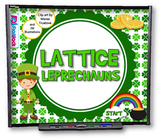 Lattice Leprechauns (Multiplication) SMART BOARD PROMETHEA