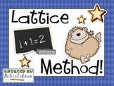 Lattice Method Multiplication
