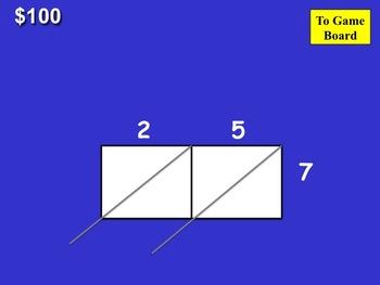 Lattice Method Multiplication Jeopardy