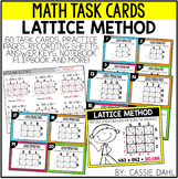 Lattice Method Task Cards